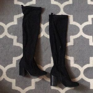 OTK Suede Heeled Boots